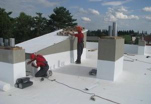 Технология мембранной гидроизоляции сложной крыши