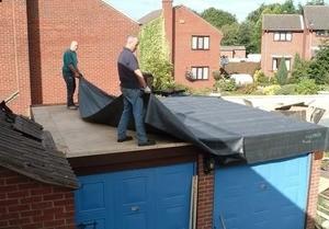Технология мембранной гидроизоляции старой крыши