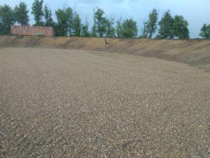 Работы на объекте «Пруд - накопитель» для производителей сельхозпродукции 2