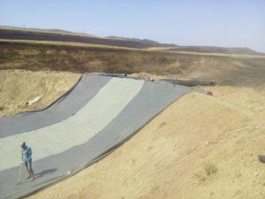 Монтаж геосинтетики в Республике Дагестан 4