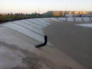 Работы на объекте «Пруд - накопитель» для производителей сельхозпродукции 4