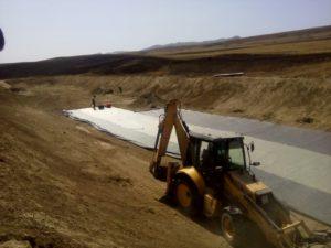 Монтаж геосинтетики в Республике Дагестан 5