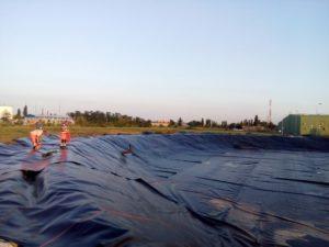 Работы на объекте «Пруд - накопитель» для производителей сельхозпродукции 5
