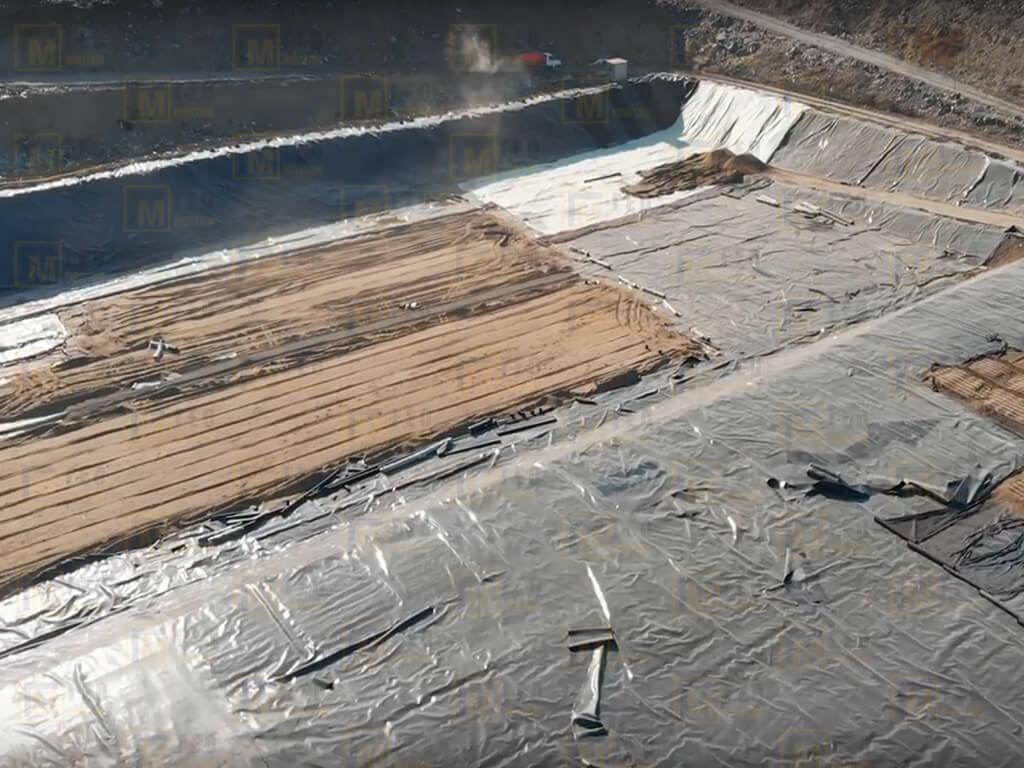 Строительство полигонов ТБО